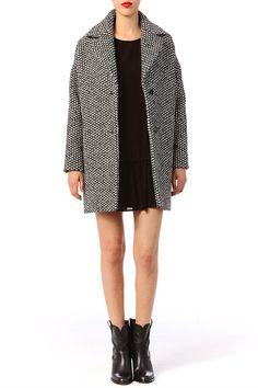 Manteau en laine Wuton/ BA&SH