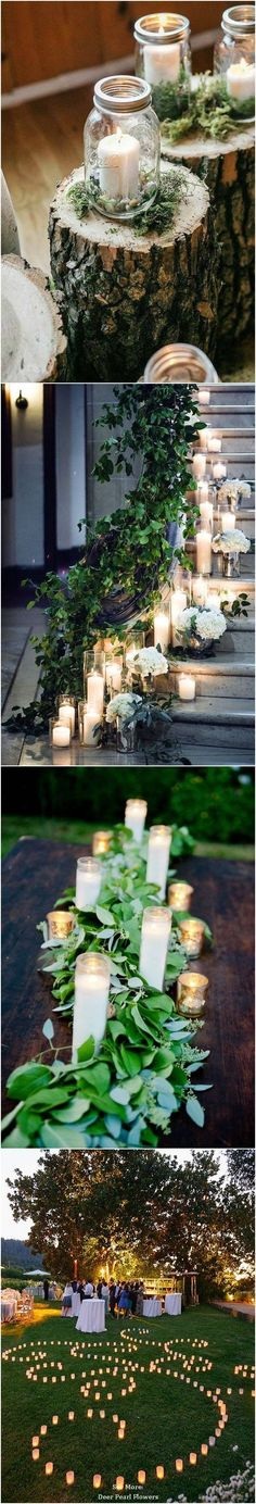 40 Chic Romantic Wedding Ideas Using Candles 2019 40 Chic Romantic Wedding Ideas Using Candles / www.deerpearlflow The post 40 Chic Romantic Wedding Ideas Using Candles 2019 appeared first on Vintage ideas. Wedding Goals, Wedding Themes, Wedding Tips, Fall Wedding, Diy Wedding, Wedding Ceremony, Rustic Wedding, Wedding Flowers, Wedding Planning
