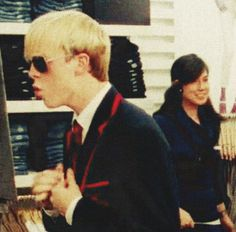 Haha Jeff (Riker<3) checking himself out ;)