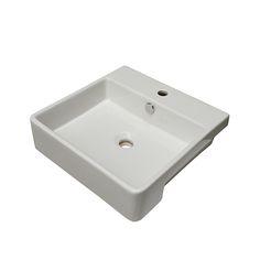 Envy Semi-Recessed Basin - PARISI Bathware and Doorware
