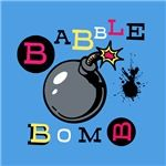 Logo for BabbleBomb shop on Cafepress.com. www.CafePress.com/BabbleBomb