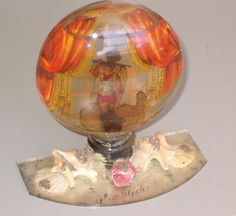 antique Italian snow globe