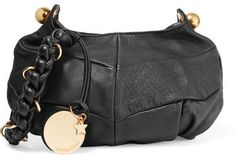 See by Chloé - Madie Small Textured-leather Shoulder Bag - Black