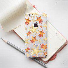 Stars iPhone 7 Case Phone iPhone 7 Plus Clear Case 6 iPhone Ocean Case 6s Phone Case iPhone 6s Plus Phone Soft Case 6 Plus Case Phone PC_089