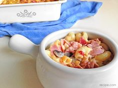 For the family on the go: one-step ham #casserole.