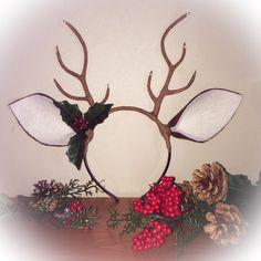 Deer antler headband Halloween costume Christmas