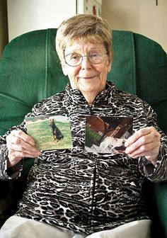 92 year old finds brilliant way to raise money for a new animal shelter: $1 at a time!