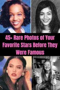 Check out these pictures of your favorite celebs before they were famous, and see how many of them you can actually recognize.