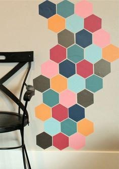 "We love it and we know you also love it as well  12pcs 11.5 x 13(4.5"" W x 5"" H) Hexagon Honeycomb wall stickers,DIY decor sticker for furniture cabinet window bathroom glass just only $4.88 with free shipping worldwide  #wallstickers Plese click on picture to see our special price for you"