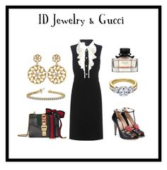 """""""ID Jewelry & Gucci"""" by idjewerly ❤ liked on Polyvore featuring Gucci"""