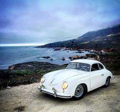 Porsche 356A Zwart http://windblox.com/ #windscreen