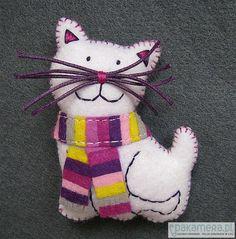 broszki-ZAMÓWIENIE - kotek dla Kasi :)
