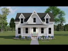 The Primrose Cottage – TM Vavra Architects Saint Lawrence River, Back Deck, Bar Areas, Large Bedroom, Summer Breeze, Front Porch, Architects, House Plans, Cottage