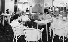 The cafeteria area of the Maddiesons Littlestone Holiday Camp in It operated successfully from 1930 for over fifty years. Butlins, Vintage Holiday, Camps, Nostalgia, The Past, Holidays, Holidays Events, Holiday, Vacation