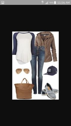 Baseball Game Outfits on Pinterest | Womens Converse Outfit, Baseball Fashion and Dodgers Outfit
