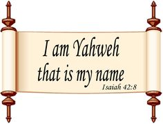 Yahweh | God's Personal Name