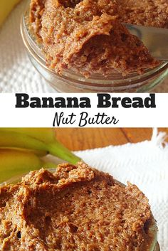 #healthy Banana Bread Nut Butter! Way better and cheaper than Nuttzo! Super easy to make! #vegan #paleo
