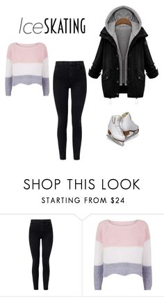 """Untitled #27"" by teodoraalicia ❤ liked on Polyvore featuring J Brand and iceskatingoutfit"