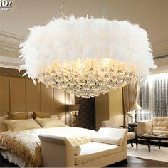 Schlafzimmer Lampe Federn