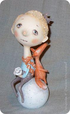 Куклы Папье-маше Много всего Бумага фото 3