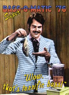 Dan Aykroyd SNL Bass O'Matic skit was the funniest thing I had seen on TV up to that point. SNL in the early years broke down so many cultural walls. Best Of Snl, Best Tv, Snl Skits, Comedy Skits, Snl Saturday Night Live, 1970s Tv Shows, The Blues Brothers, Back In My Day