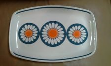 figgjo in China and Pottery Platter, Norway, Daisy, Mid Century, China, Graphic Design, Table, Ebay, Daisies