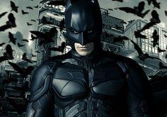 Batman - 蝙蝠侠 (Biānfú xiá) in the Dark Knight Rises!!!