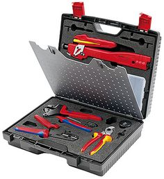 Knipex 97 91 02 Photovoltaic Tool Case Kit - MC3 (Multi-Contact) 10642