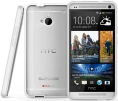 SUPCASE Premium Hybrid Protective Case for HTC One M7 Smartphone (White/Clear) - Multiple Color Options - http://www.mobilebliss.com/supcase-premium-hybrid-protective-case-for-htc-one-m7-smartphone-whiteclear-multiple-color-options - http://ecx.images-amazon.com/images/I/51UCFK1-snL.jpg