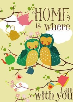 home is... Art Print by Elisandra/Society6