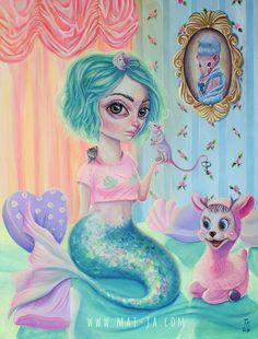 Mermaid by Mai-Ja on DeviantArt