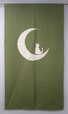 Cat on the moon NOREN you can buy direct from Japan