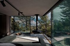 Mountain Retreat, a modern cabin by Fearon Hay « Small House Bliss