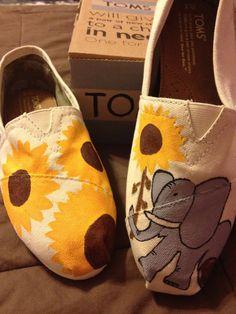 Cute! Custom Toms