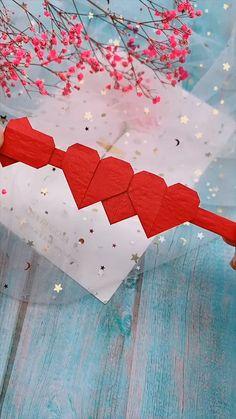 Mar 2020 - creative crafts let's do together!😘😘😍😍 Diy Crafts Hacks, Diy Crafts For Gifts, Diy Arts And Crafts, Diy Crafts Videos, Creative Crafts, Instruções Origami, Origami Ball, Paper Crafts Origami, Origami Videos