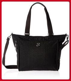 Kipling Shopper Small Solid Tote, Black - Shoulder bags (*Amazon Partner-Link)