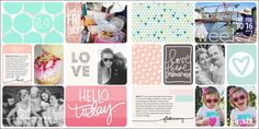 Kimberly Young | Project Life 2014 | Week 7 | lahowind.com