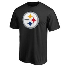 Pittsburgh Steelers Pro Line Primary Logo T-Shirt - Black - $24.99