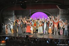 Record breaking audiences for Cromer and Sheringham Operatic and Dramatic Society. The spectacular production of Oliver on Cromer pier received standing ovations every evening during it's run.