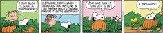 Peanuts by Charles Schulz | November 1, 2014 - Great Pumpkin
