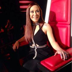 Melina Aslanidou ROCKING her @sass & bide dress at The Voice Greece Final!! #sassandbide #thevoicegr