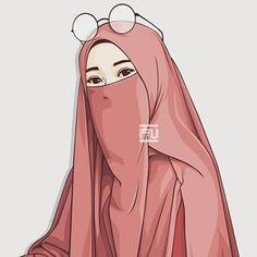 Hijab Drawing : - Hijab Combine Hijab hijab with niqab Hijabi Girl, Girl Hijab, Vector Character, Tmblr Girl, Portrait Vector, Muslim Pictures, Hijab Drawing, Film Anime, Fanart