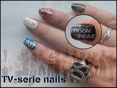 TV Serie Nails - Nail Art (Deviantart)