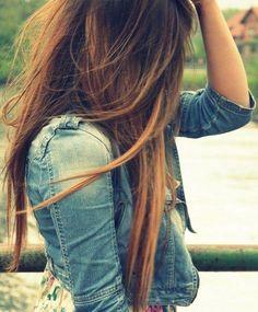 Long Hair #Gold Color. #eSalon
