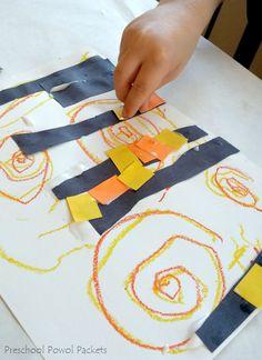 "SUPERimaginative. ""Superhero Cityscape Art Project with Van Gogh"" #art #kids #education"