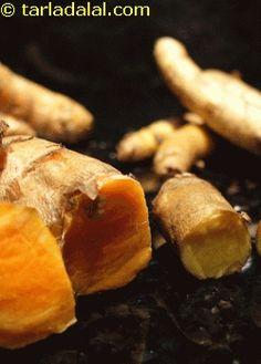 Fresh raw turmeric uses Turmeric Uses, Fresh Turmeric, Turmeric Recipes, Tea Recipes, Asian Recipes, Healthy Recipes, Healthy Drinks, Healthy Options, Spice Things Up