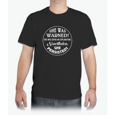 She Was Warned - Mens T-Shirt