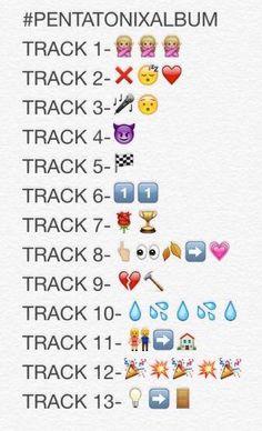 THE #PENTATONIXALBUM TRACK LISTING <--- Track 2=Can't sleep Love, Track 7=Rosegold, Track 9=Heartbreak (?)