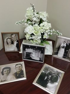 February 2014 by Ruth Ann, wedding pictures of the widows in our church. Welcome Room