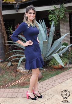 Vestido LUZIA FAZZOLLI usado no look do dia da nossa queridíssima blogueira Denise Ulliam! #lookdodia #deniseulliam #voudeluziafazzolli